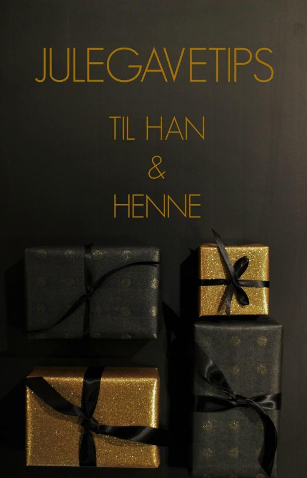 Julegavetips til han og henne