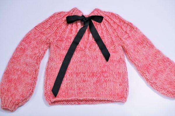 rosa genser oppskrift